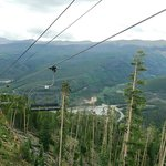 View from Scenic chair lift