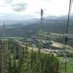 view from scenic chairlift ride