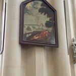 Beautiful art everywhere in this church