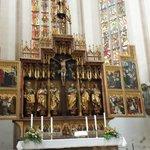 Twelve Apostles altar, and see those windows!