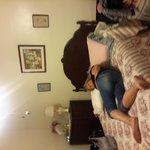 bedroom in Maria suite