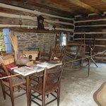 Historic Ogle Log Cabin Right Side