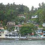 Boat approaching Sabang Docks