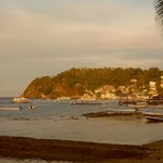 View of Sabang Beach from the Portofino hotel