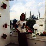 Terraco do Sultanahmet Hotel!!