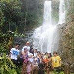 Family pic at Tamaraw Falls