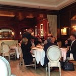 Dining room at the Charleston Grill on 9-11-2014
