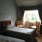 Twin room in family suite