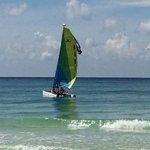 Mr. JP sail boat.