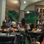 Belly Dancer at the Lebanese Taverna!