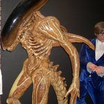 Alien and Austin Powers wax figures