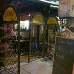 Entrance to Soho Bar