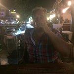 Enjoying after dinner drink