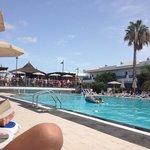 main pool and pool bar