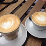 Two perfect coffees from tibor