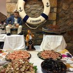 Buffet libre temático marinero