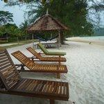 The beach - relaxing!