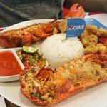 500 gr seafood platter