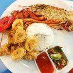 250gr seafood platter