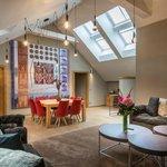 Deluxe Two Bedroom Suite - Living room