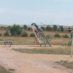 Additional sculptures at Carhenge