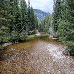 clear creek below cascades