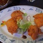 Fried fish (starter)