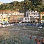 albergo e spiaggia