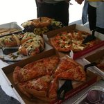 Outdoor event catered from Pats
