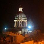 il terrazzo panoramico in notturna