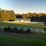 Pasture and barn