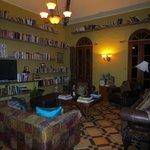 Interior librabry, reding room
