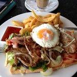 La Headquarters Cafe - Steak Sandwich