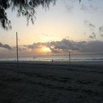 lever de soleil sur l ocean indien toujours magique