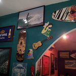 Surf Decor Mexican Restaurnt in Panama