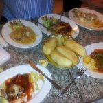Yes its 3 dishes for one man for less than 1 dish back in OZ