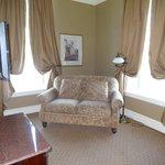 corner suite with sofa