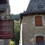 View of Outside the Petit Chou, close to river