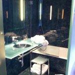 Very nice bathroom. Room very nice and comfortable overall.