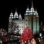 The LDS Temple at Temple Square