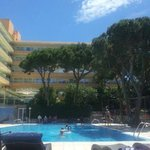 The main pool area, lovely!