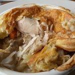 BONE IN Chicken Pot Pie