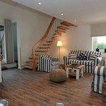 Der Wohnbereich unserer Maisonette-Suite Lee
