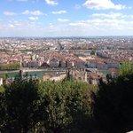 老議事堂山上鳥瞰里昂市景