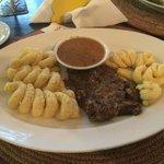 Steak with Mash