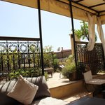 Riad Cinnamon roof terrace