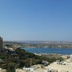 The breath taking view from our seaview executive apartment