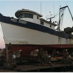 Miss Sandy, Fishing Trawler, neaby yard