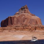 Lake Powell vom Motorboot aus