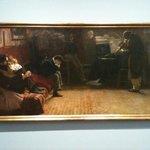 Beethoven jouant du violon par Lionello Balestrieri